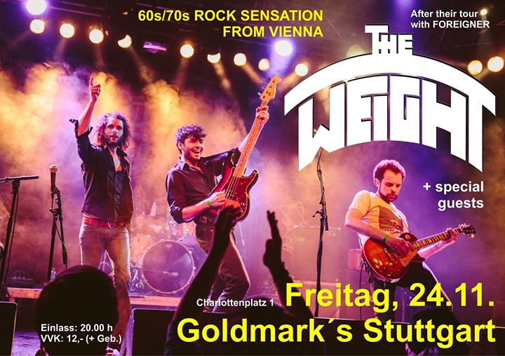 The Weight im Goldmark´s Stuttgart