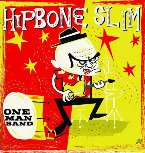 Live: Hipbone Slim One Man Band + Support: Rosh L. Papenfoot