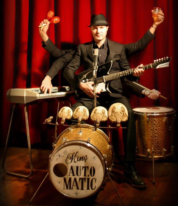 Live: King Automatic (One-Man-Band)