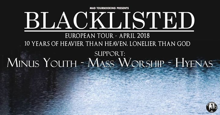 Blacklisted + Minus Youth, Mass Worship und Hyenas im JuHa West