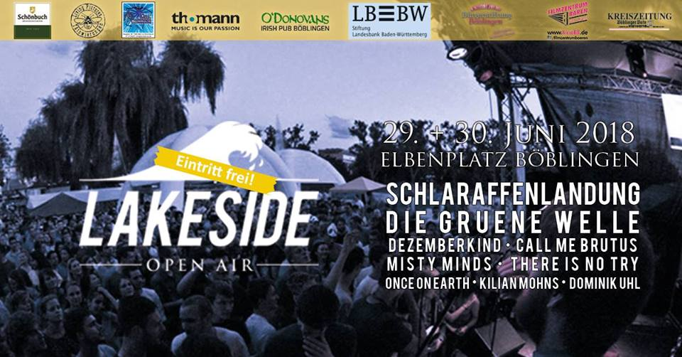 Lakeside Open Air 2018 - Der lauteste See des Sommers!
